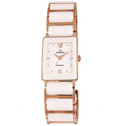 Reloj Viceroy Ceramica Y Zafiro 47608 - 95 Mujer Weiãÿ: Amazon.es: Relojes