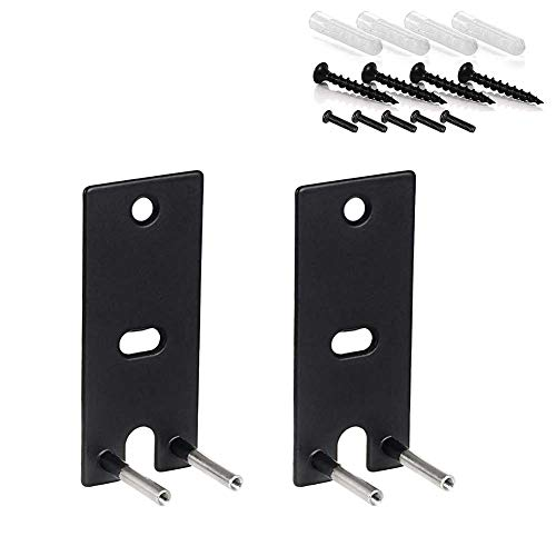 1 Pair of Black Wall Mount Brackets for Bose Lifestyle 650,Durable Replacement Speaker Shelf
