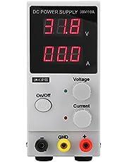 Mini 0-30V 0-10A Fuente de Alimentación Digital Variable Ajustable de CC AC110 / 220V (Enchufe EU)
