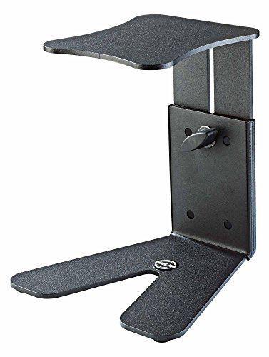 K & M Stands K & M Monitor Table, Small Black Music Stand 26772.000.56 55 Lb Large Monitor