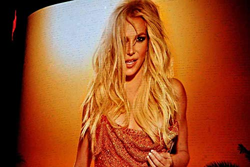 Britney Spears photograph a photographic print of Britney Spears neon show poster Planet Hollywood Las Vegas USA landscape photo color picture fine art print or poster photography gift (9