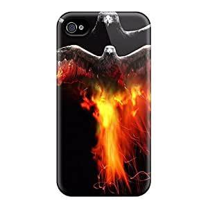 For Case Iphone 6Plus 5.5inch Cover Bird Print High Quality Frame Cases Covers
