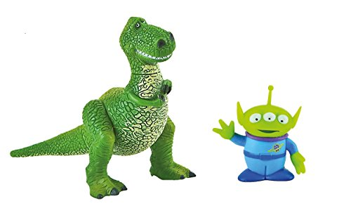 Disney Toy Story Rex and Alien Birthday Party Cake Toppers