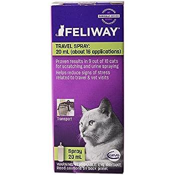 Ceva Feliway Pheromone Travel Spray, 20mL