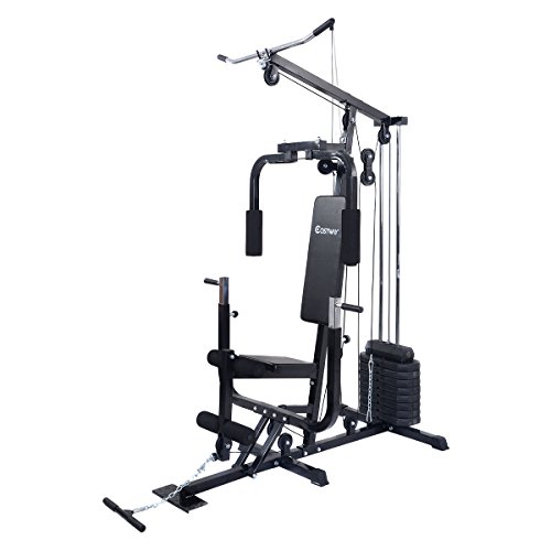 Costway Home Gym Weight Training Exercise Workout Equipment Fitness Strength Machine by COSTWAY