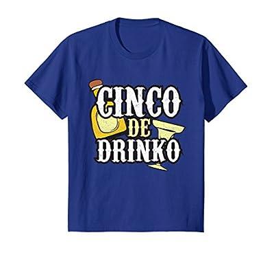Funny Cinco de Mayo Drinko Celebration T-shirt