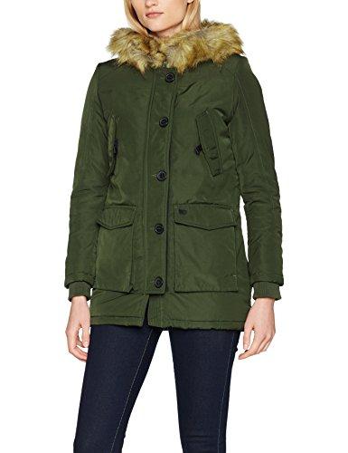 LTB Zoheke Coat, Chaqueta para Mujer Grün (Grape Leaf 5841)