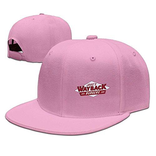 Plain Cap NewWayback Burgers Logo Snapback Hats
