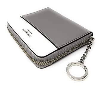 Kate Spade New York Small Slim Continental Cameron Leather Wallet Grey