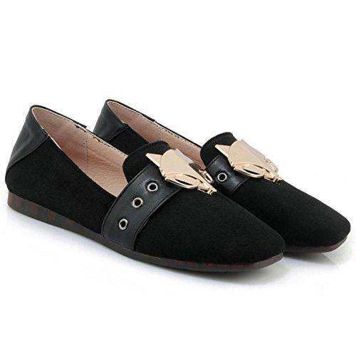 Black 88 Zapatos Mujer Bajo de RAZAMAZA Para Tacon pxZaqYpOwR