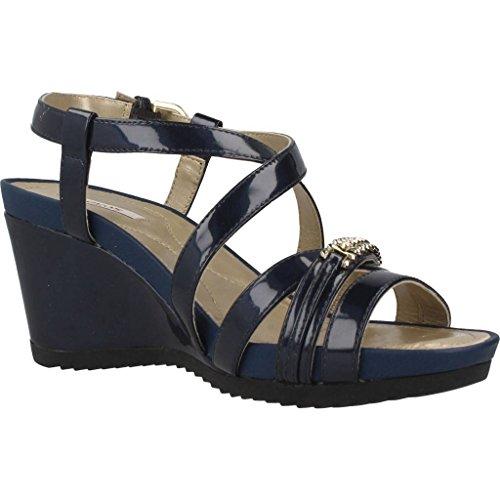 Geox Sandalias y Chanclas Para Mujer, Color Azul, Marca, Modelo Sandalias Y Chanclas Para Mujer D New Rorie Azul Azul
