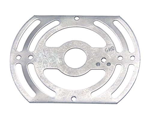 B&P Lamp 4 Inch Universal Cross - Plate Ceiling Mounting