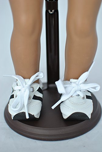 Unique Doll Costume (Unique Doll Clothing BLACK SNEAKERS, JOGGING, RUNNING, SPORTS, 18