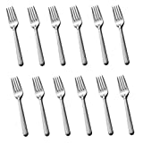 Mikasa Italian Countryside 18/10 Stainless Steel 6 5/8'' Salad Fork (Set of Twelve)
