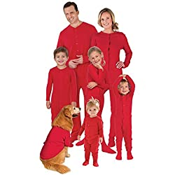 PajamaGram Onesie Dropseat Matching HIs and Hers Pajama Sets