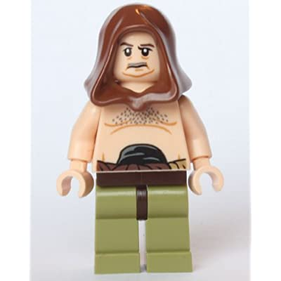 LEGO Star Wars Malakili - Rancor Trainer - from set 75005: Toys & Games
