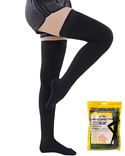Ailaka Thigh High 20-30 mmHg Compression Support Stockings for Women & Men