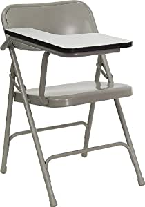 Astounding Flash Furniture Premium Steel Folding Chair With Right Handed Tablet Arm Uwap Interior Chair Design Uwaporg