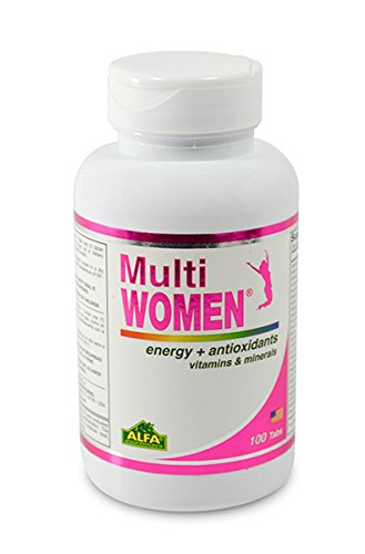 Multi Women 100 Tablets - Dietary Supplement - Vitamins & Minerals - Herbs - Amino Acids - Antioxidants