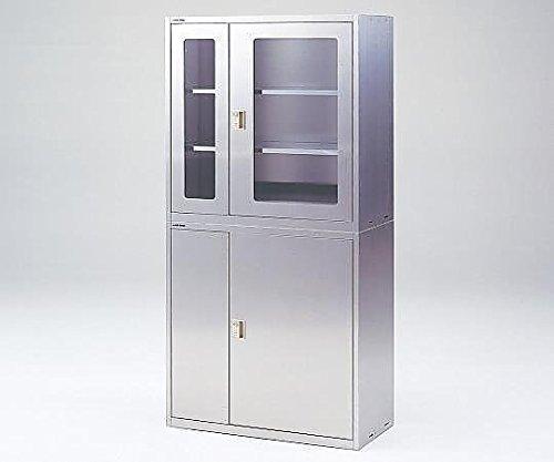アズワン2-7990-01耐震薬品庫(薄型)W900S窓なし B07BD2V7SJ