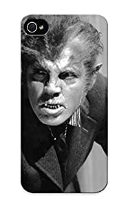 Stylishgojkqt Anti-scratch And Shatterproof Scary Werewolf Phone Case For Iphone 5/5s/ High Quality Tpu Case