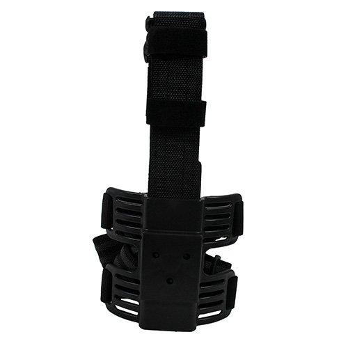 Uncle Mike's Law Enforcement Kydex Tactical Drop-Leg Holster Platform with Double Strap