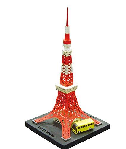 (Paper Nano Tokyo Tower Building Kit)