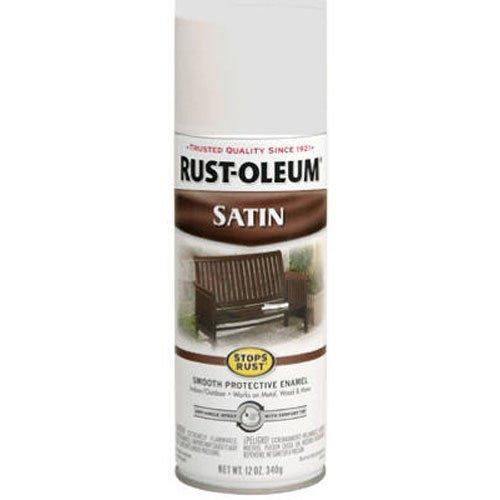 Rust Oleum 7791830 Satin Enamel 12 Ounce