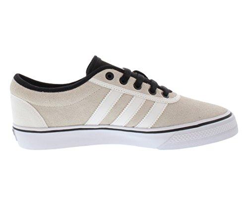Adidas Adiease Ii Heren Skateboarden Schoenen Maat Us 11.5, Regelmatige Breedte, Kleur Creme / Wit / Zwart