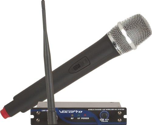 Microphone Wireless 900mhz (VocoPro UHF-18-10N 900MHz Single Channel UHF Wireless Mic System)