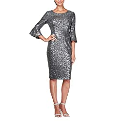 Plus Size Short Sequin Dress