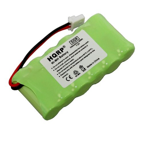 HQRP 7.2V Battery for Dogtra BP72T 40AAAM6BML fits RR Del...