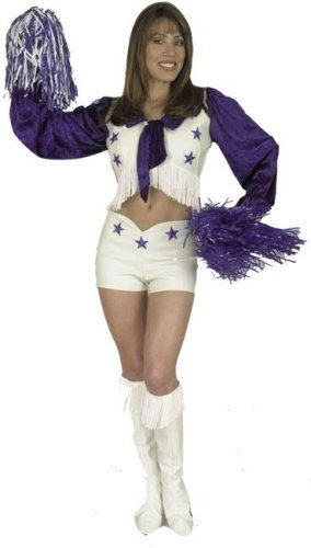 Adult Dallas Cheerleader Costume (Size:Small 5-7) (Dallas Cheerleaders Costume)