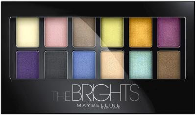 Maybelline New York Expert Wear Eyeshadow Palette, The Brights