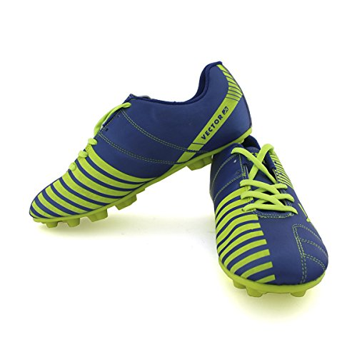Vector X Volt Football Shoes, UK 11 (Blue)