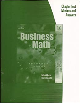 business math 16th edition answers