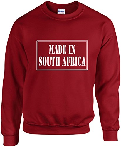 Signature Depot Unisex Funny Crewneck Size S (Made In South Africa) - Africa Just Men For South