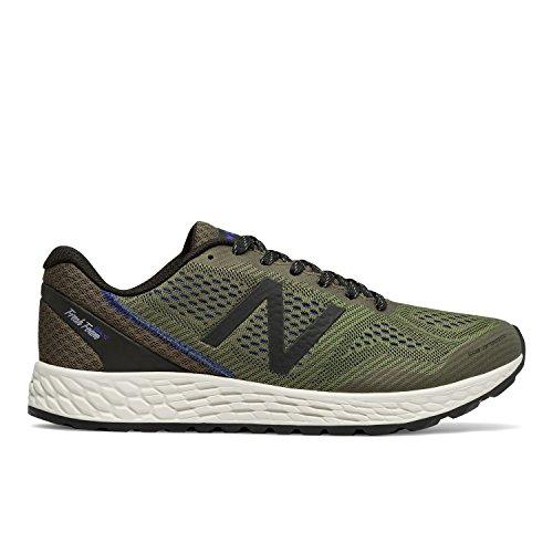 New Balance MTGOBID2 Men's Fresh Foam Gobi Trail Running Shoes, Triumph Green With Black & Pacific - 12 2E (New Balance Elements)