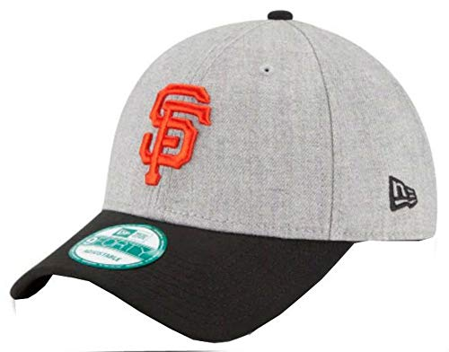 best service fca2c b0fdb New Era MLB San Francisco Giants The League Heather 9Forty Adjustable Cap,  One Size, Heather