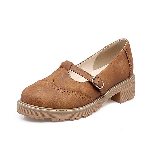 APL10481 Amarillo sólido BalaMasa Senderismo Estilo de Zapatos Mujer Casual 0F80qPn
