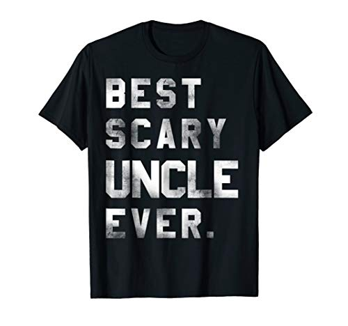 Best Scary Uncle Ever Halloween costume Gift T shirt -