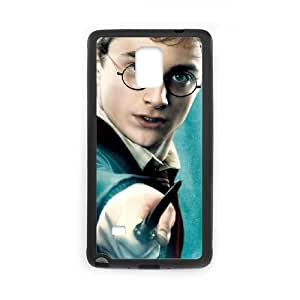 Harry Potter Samsung Galaxy Note 4 Cell Phone Case Black yyfabd-304651