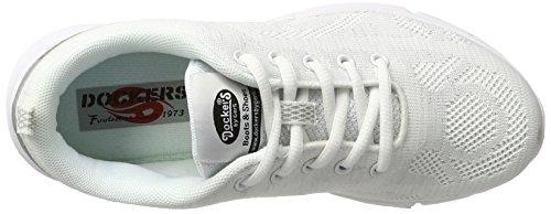 Dockers by Gerli 38qi201-700500, Zapatillas para Mujer Blanco (Weiss 500)