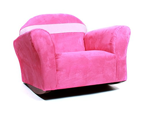 Bubble Chair Club (KEET Bubble Rocking Microsuede Kid's Chair, Pink)