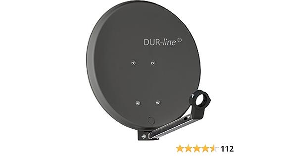 DuraSec de Line DSA 40 cm antracita Trade-Shop rígida de ...