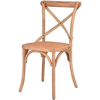 Amazon Com Flash Furniture Hercules Series Stackable Oak