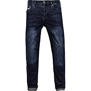 John Doe Jeans Denim Kevlar Jeans Dark Blue-L34-W31: Amazon ...