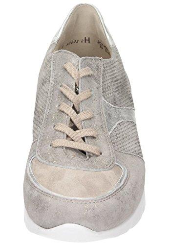 Semler Damen Nelly Sneaker Beige (Panna)