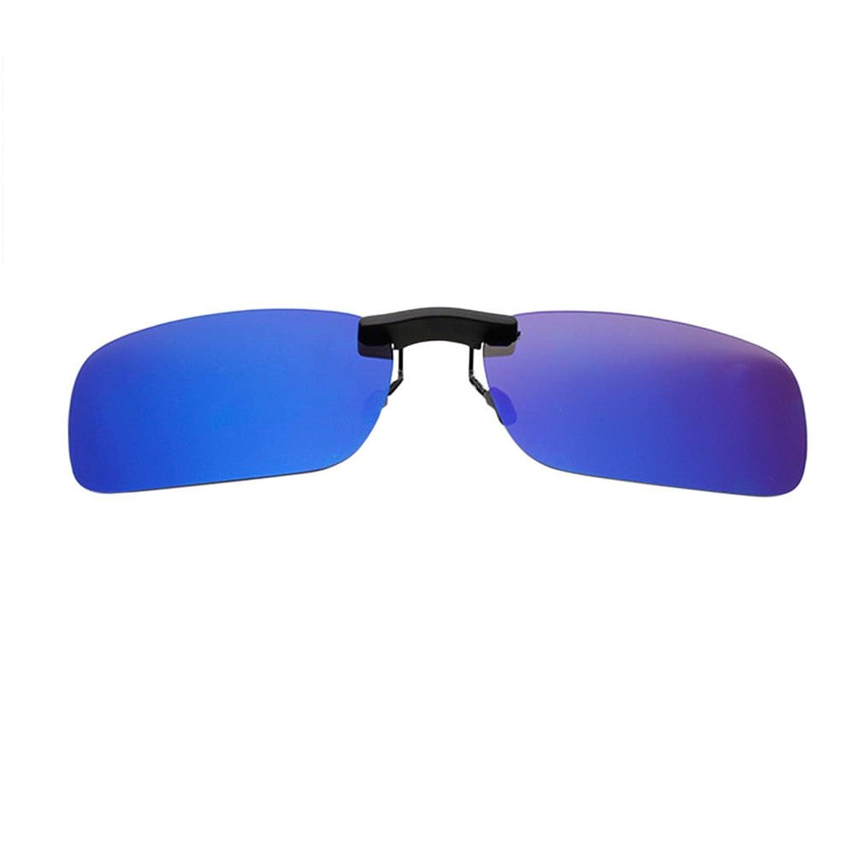 66842c3277 Hzjundasi Hombre Mujer Gafas de Sol Sin Marco Rectangular Vintage  Polarizadas UV400 Portección Anti Reflejante Lectura