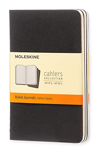 - Moleskine Cahier Journal, Soft Cover, Pocket (3.5